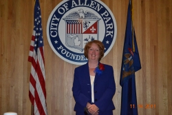 Treasurer Maureen Armstrong